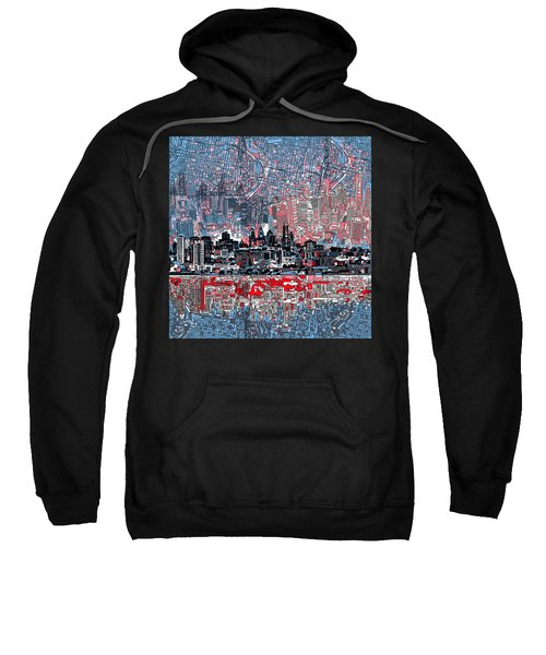 Philadelphia Skyline Abstract Sweatshirt