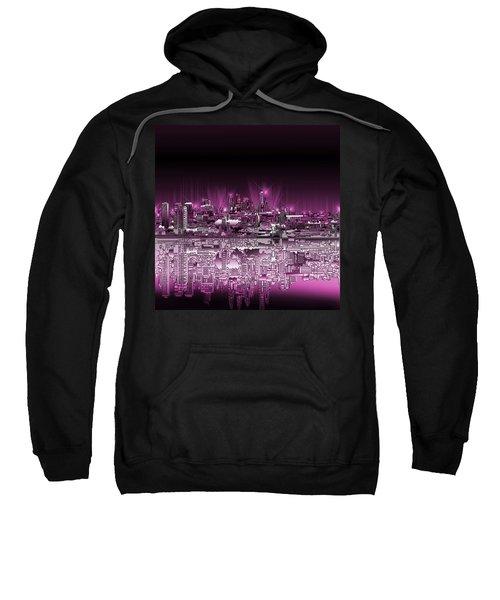 Philadelphia Skyline  Gradient 2 Sweatshirt