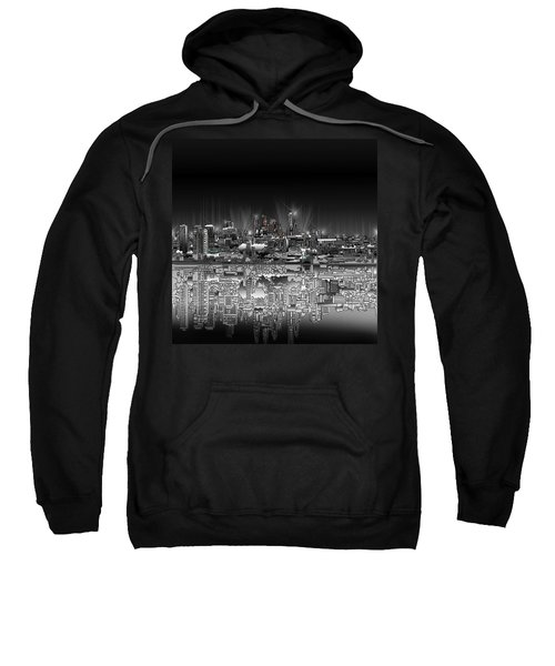 Philadelphia Skyline  Gradient Sweatshirt