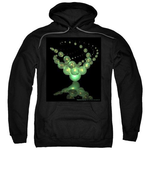 Phosphorescent Glass Twirl  Sweatshirt
