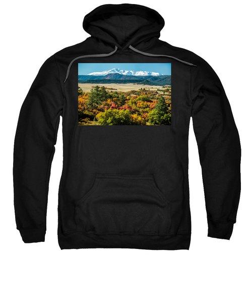 Pikes Peak Over Scrub Oak Sweatshirt