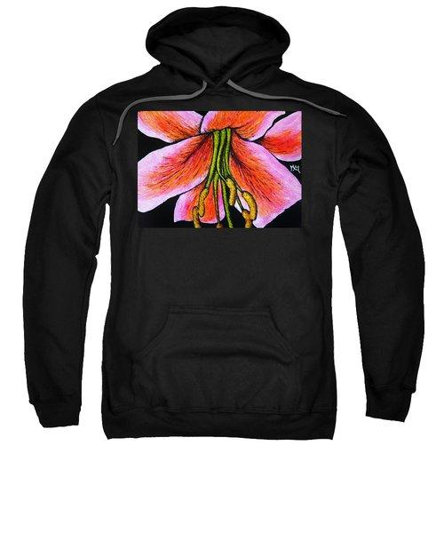 Pink Lily Sweatshirt
