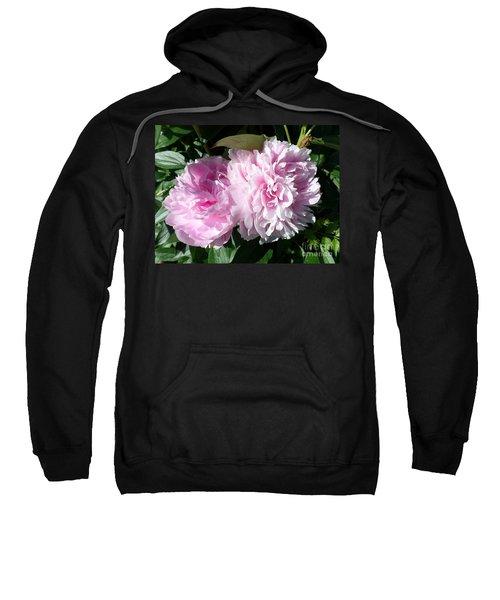 Pink Peonies 3 Sweatshirt