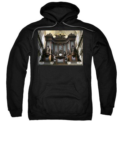 Pipe Organ In St Sulpice Sweatshirt
