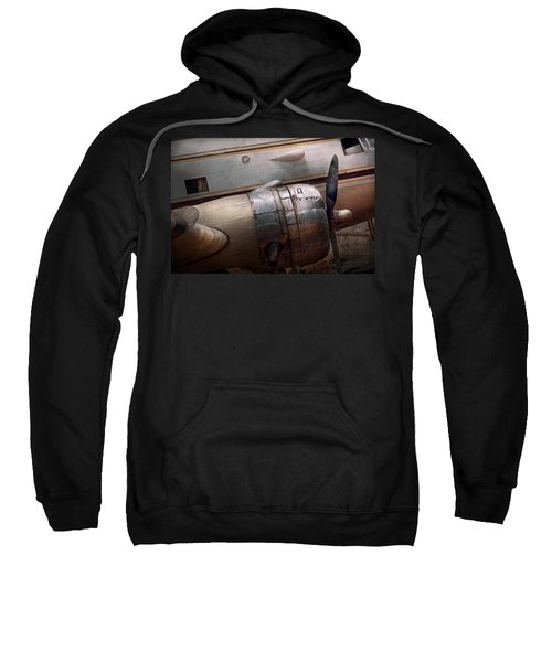 Plane - A Little Rough Around The Edges Sweatshirt