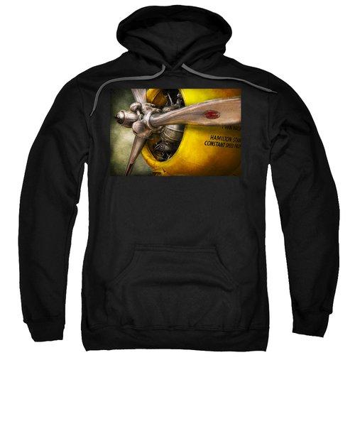 Plane - Pilot - Prop - Twin Wasp Sweatshirt