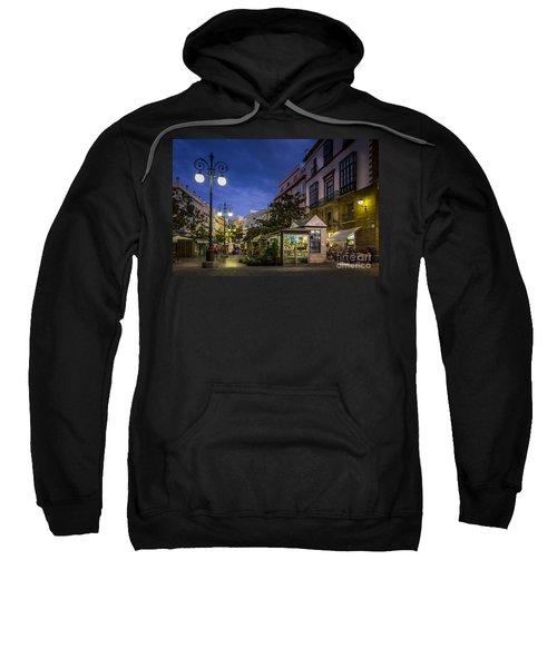 Plaza De Las Flores Cadiz Spain Sweatshirt