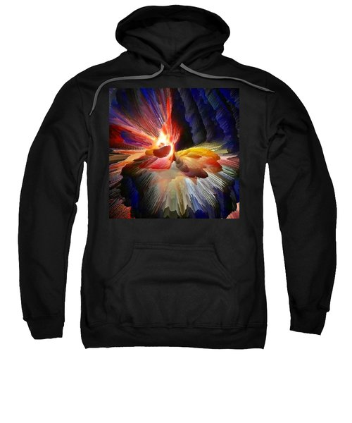 Point Of Impact - Abstract Dancers Sweatshirt