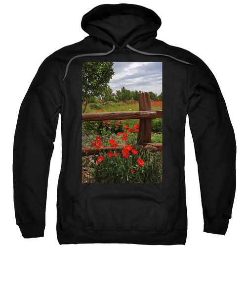 Poppies At The Farm Sweatshirt