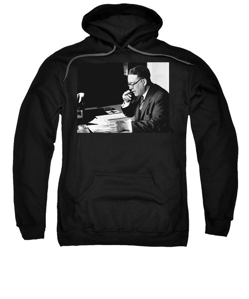 Portrait Of Elmer Irey Sweatshirt