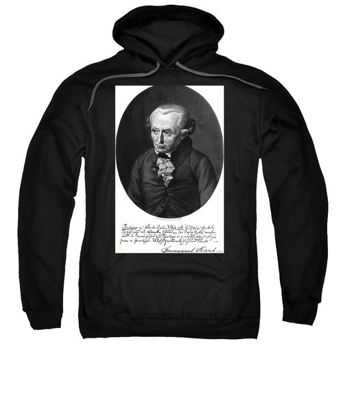 Portrait Of Emmanuel Kant  Sweatshirt