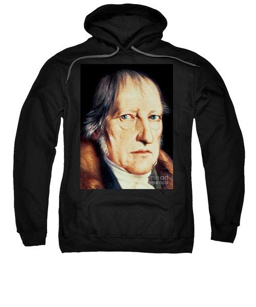 Portrait Of Georg Wilhelm Friedrich Hegel Sweatshirt