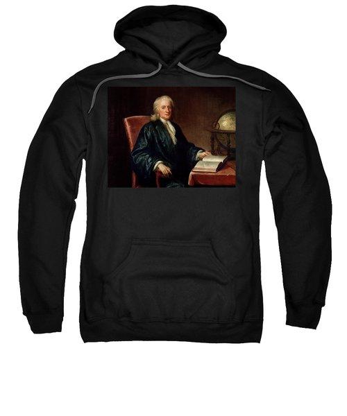 Portrait Of Isaac Newton Sweatshirt
