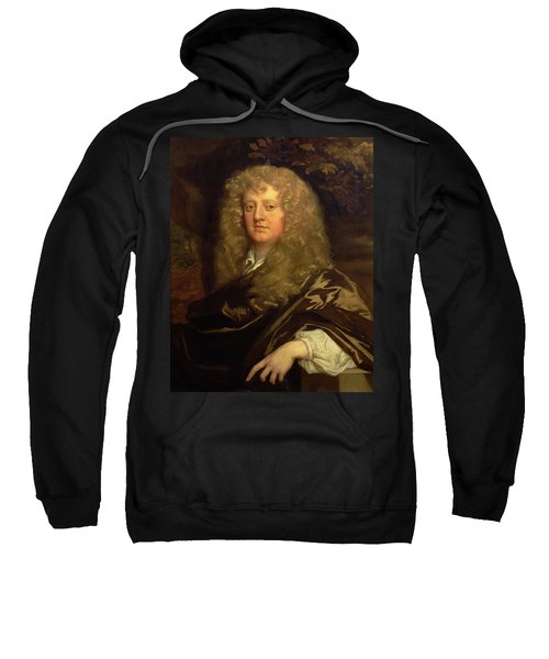 Portrait Of Sir Ralph Bankes 1631-79 Oil On Canvas Sweatshirt