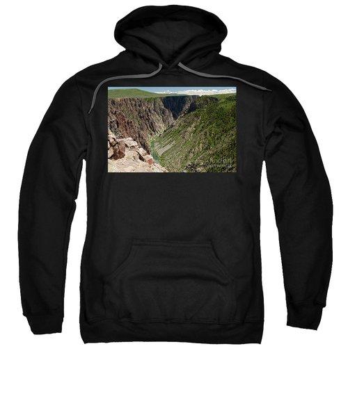 Pulpit Rock Overlook Black Canyon Of The Gunnison Sweatshirt