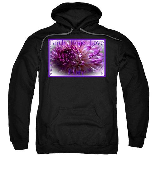 Purple Awareness Support Sweatshirt
