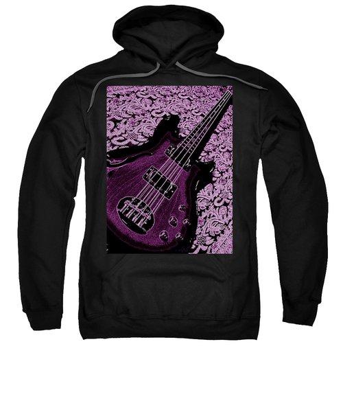 Purple Bass Sweatshirt