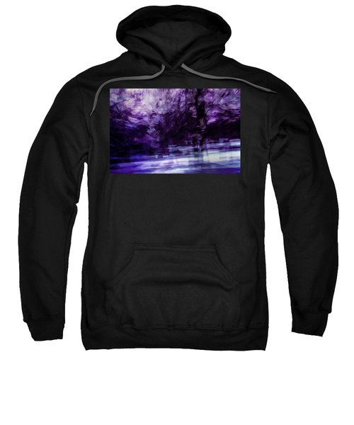 Purple Fire Sweatshirt