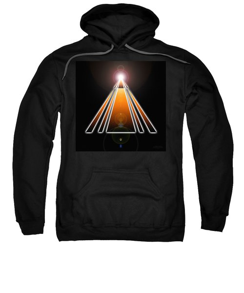 Pyramid Of Light Sweatshirt