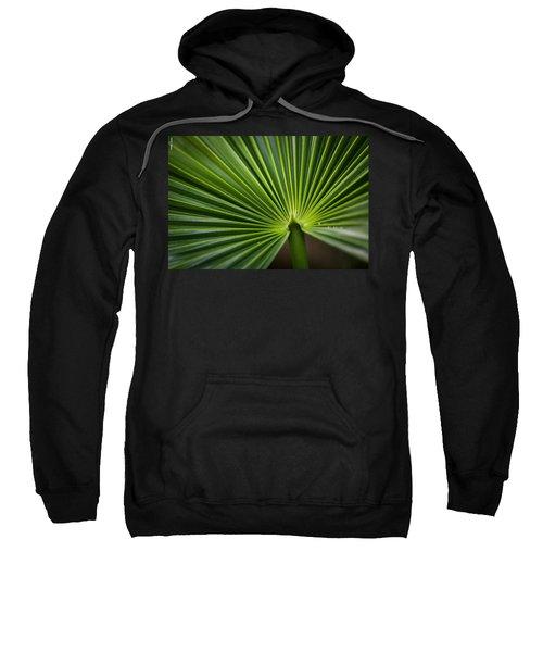 Radial Greens Sweatshirt