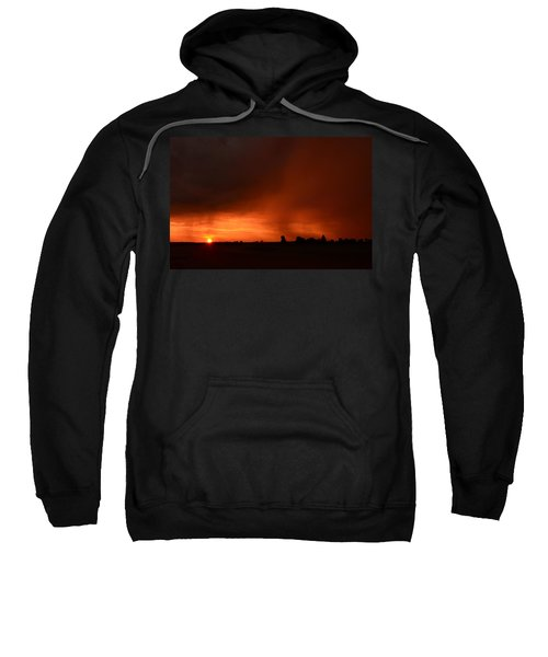 Rain Squall Sunrise Sweatshirt