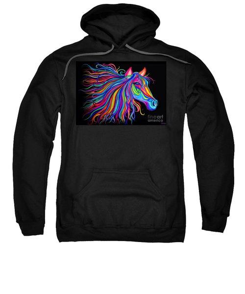 Rainbow Horse Too Sweatshirt
