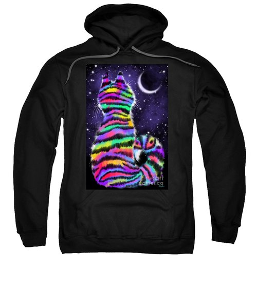Rainbow Tiger Cat Sweatshirt