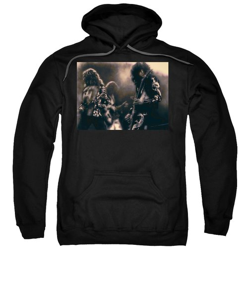 Raw Energy Of Led Zeppelin Sweatshirt by Daniel Hagerman