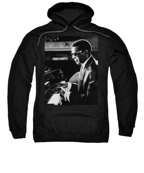Ray Charles At The Piano Sweatshirt