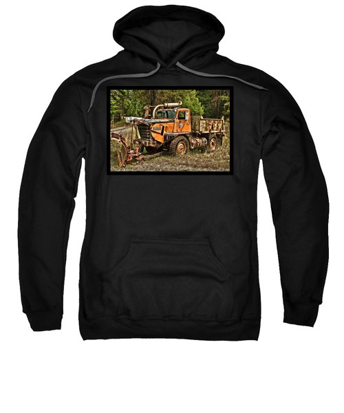 Ready For Snow By Ron Roberts Sweatshirt