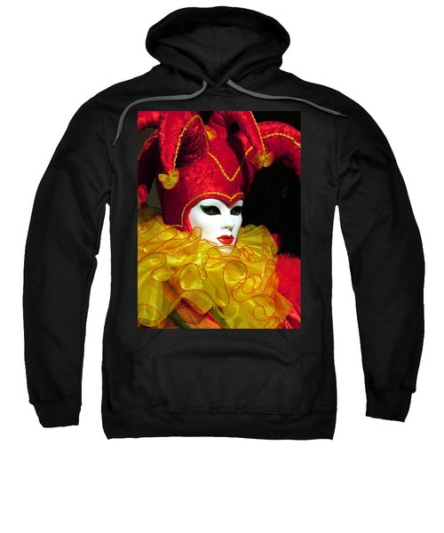 Red And Yellow Jester Sweatshirt