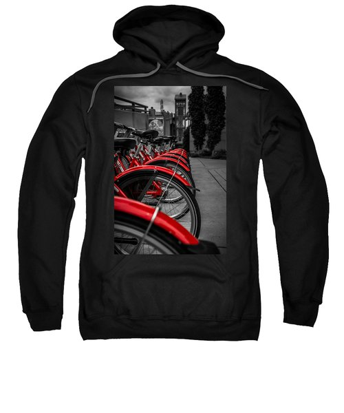 Red Bicycles Sweatshirt