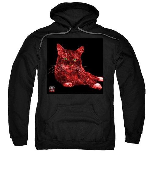 Red Maine Coon Cat - 3926 - Bb Sweatshirt