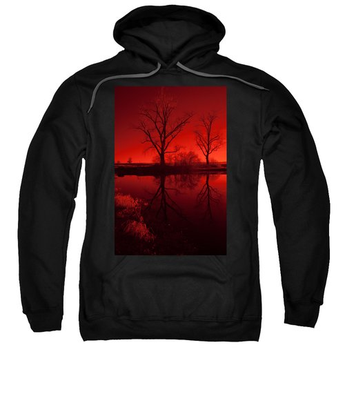 Red Reflections Sweatshirt
