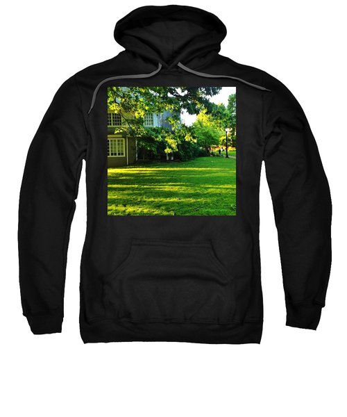Reed College Campus Evening Light Sweatshirt by Anna Porter