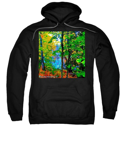 Reed College Canyon Reflections Of Autumn Sweatshirt