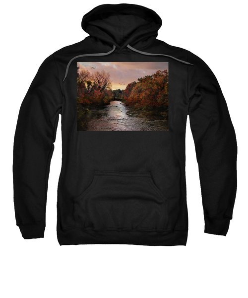 Reflections Of An Autumn Day Sweatshirt