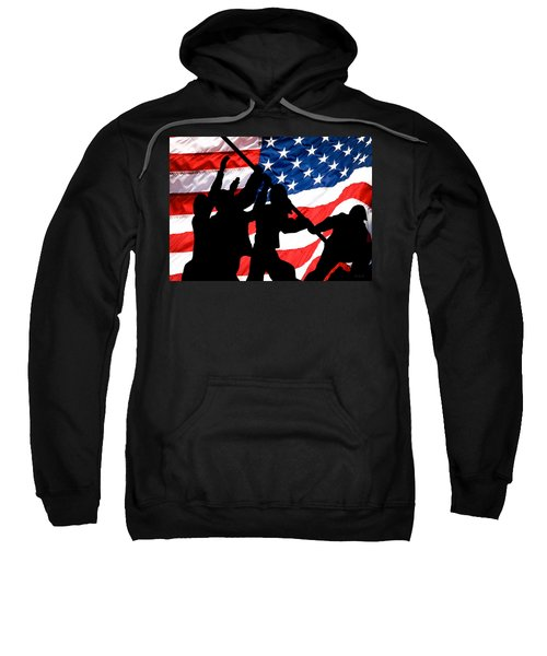 Remembering World War II Sweatshirt by Bob Orsillo