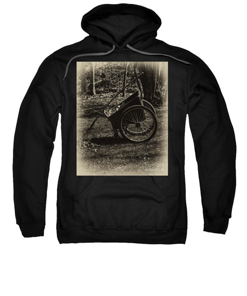 Sweatshirt featuring the photograph Rest Awhile by Mark Myhaver