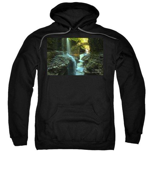 Rainbow Falls Watkins Glen Sweatshirt