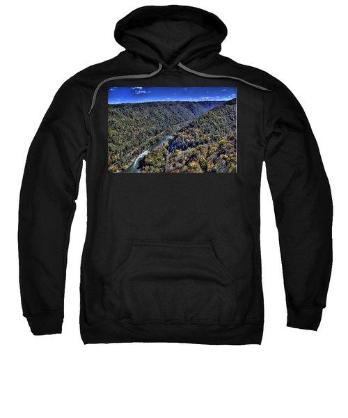 River Through The Hills Sweatshirt by Jonny D