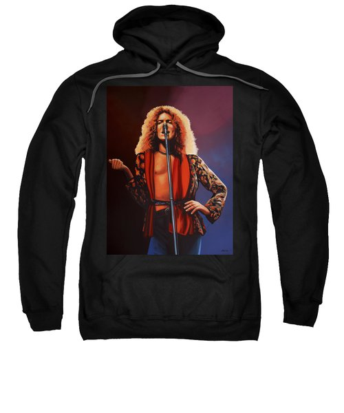 Robert Plant 2 Sweatshirt by Paul Meijering