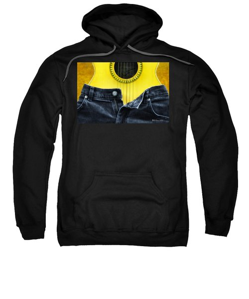 Rock And Roll Woman Sweatshirt