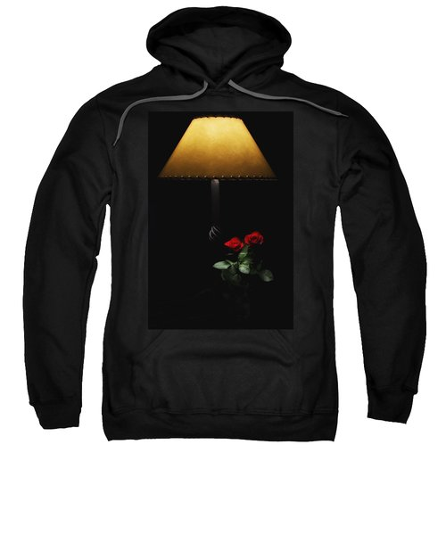 Roses By Lamplight Sweatshirt