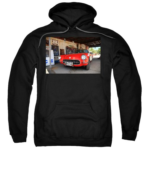 Route 66 Corvette Sweatshirt