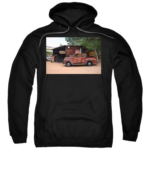 Route 66 Garage And Pickup Sweatshirt