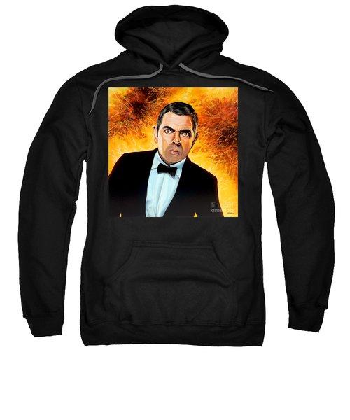 Rowan Atkinson Alias Johnny English Sweatshirt