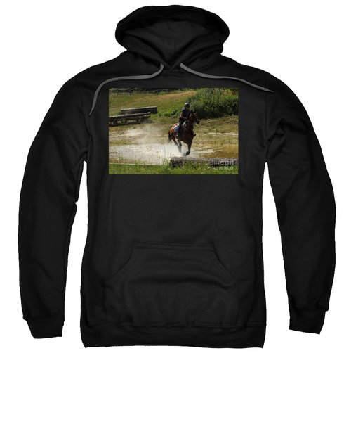 Running Thru Water  Sweatshirt