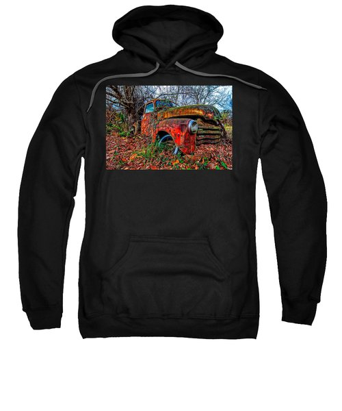 Rusty 1950 Chevrolet Sweatshirt