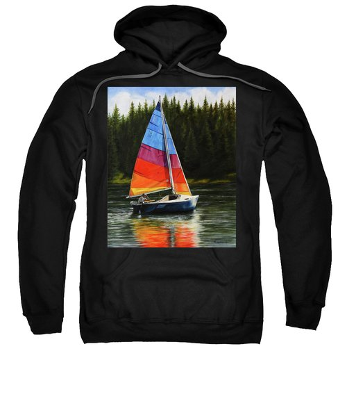 Sailing On Flathead Sweatshirt